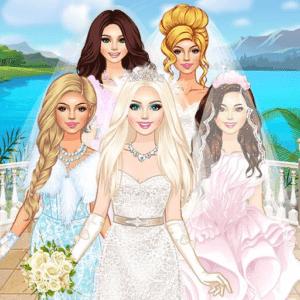 لعبة تلبيس الجميلات للزفاف
